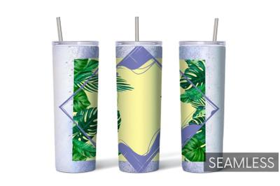 Palm Leaf Tumbler Sublimation