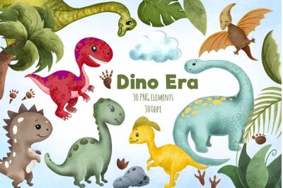 Cute dinosaur clipart / T-rex PNG / Dinosaur paper / Kids sublimation