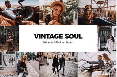 20  Vintage Soul LR Presets