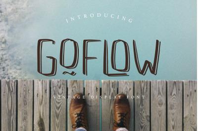 GOFLOW Vintage Display Font