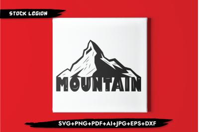 Mountain SVG