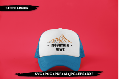 Mountain Vibe SVG