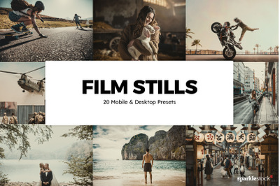 20  Film Stills LR Presets