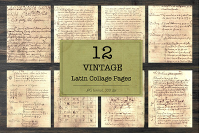 Vintage latin backgrounds