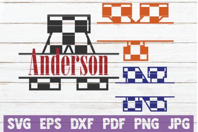 Checkered Monogram Alphabet