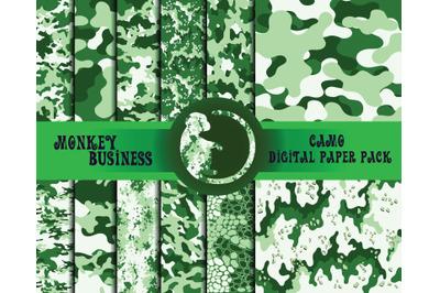 Scrapbook paper pack, Digital papers, JPG files, Instant download