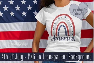 4th of July PNG Sublimation, USA Independence Day, Patriotic