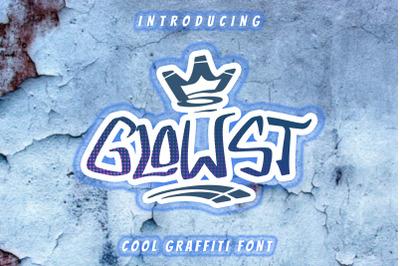 GLOWST Graffiti Font