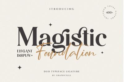 Magistic - Duo Ligature Typeface