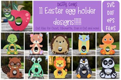 Egg holder animal bundle