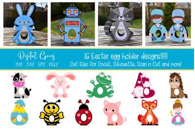 Egg holder designs
