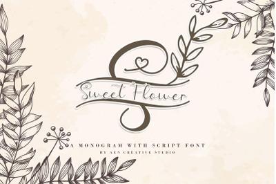 Sweet Floral Monogram