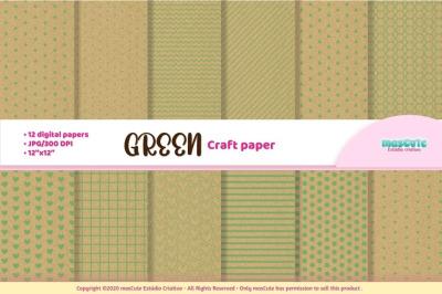 Craft Paper Textures Digital Scrapbook paper