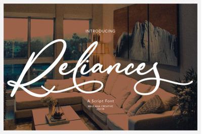 Reliances Script Font