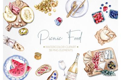 Picnic Food Clipart