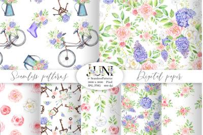 JUNI seamless patterns