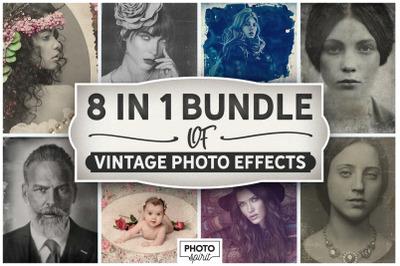 8 IN 1 BUNDLE Vintage Photo Effects