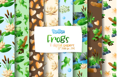 Frogs Digital Papers