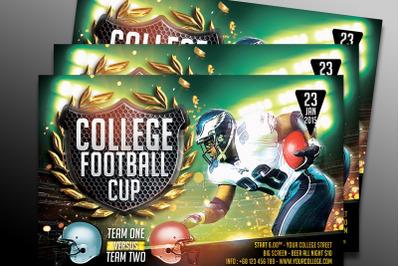 College Football- Horizontal