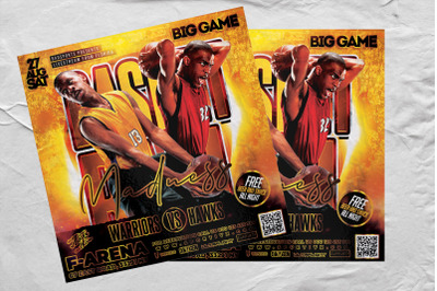 Basketball Madness Sports Flyer