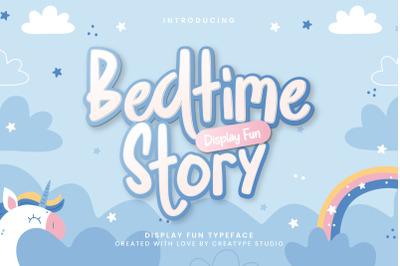 Bedtime Story Display Fun