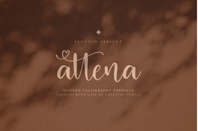 Attena Modern Calligraphy