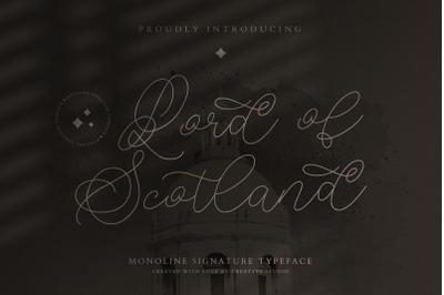 Lord of Scotland Monoline Signature