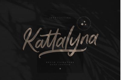 Kattalyna Brush Signature