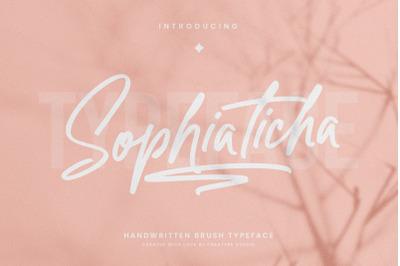 Sophiaticha Handwritten Brush