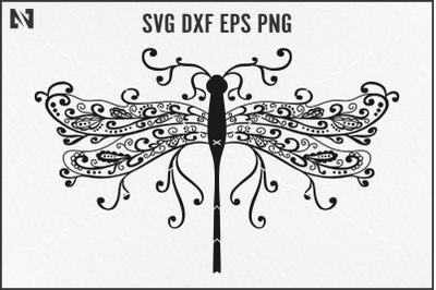 Dragonfly Mandala Svg, Dragonfly Svg, Dragonfly Clip Art