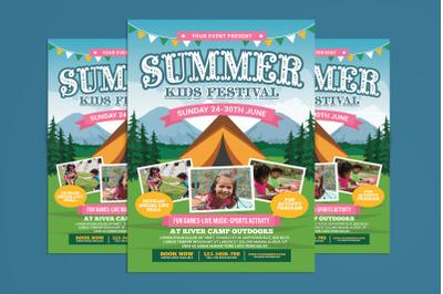 Summer Kids Camp Flyer