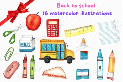 Back to school clip art, School clip art, Education clip art