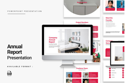 Modern Annual Report Presentation
