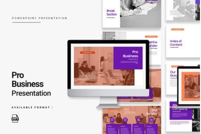 Pro Business Presentation Template