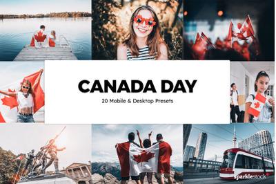 20  Canada Day LR Presets