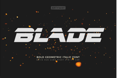 Headline Blade Font