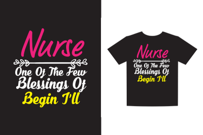 Nurse one of the few blessings of begin ill  svg