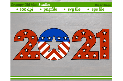 2021 4th of July design