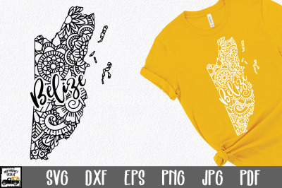 Belize SVG File - Belize Mandala Design