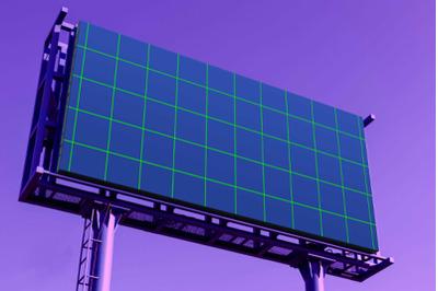 Realistic Billboard - Mockup