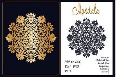 Mandala. SVG