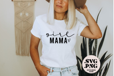 Girl Mama SVG Cut File Sublimation PNG