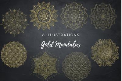 Gold Mandala Collection