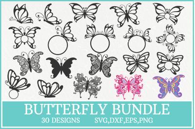 Butterfly Svg Bundle, Butterfly Mandala Svg, Butterfly Image