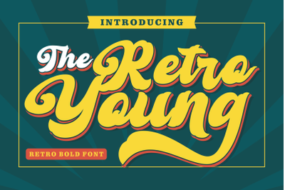 Retro Young - Vintage Bold Font