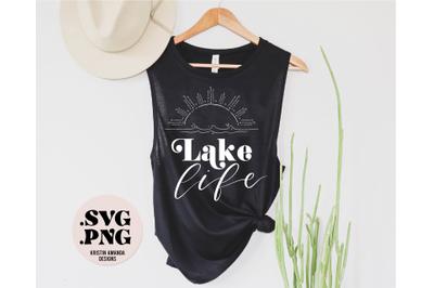 Lake Life SVG Cut File and PNG