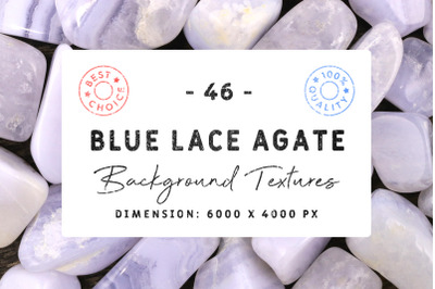 46 Blue Lace Agate Background Textures