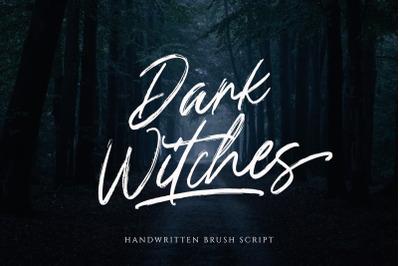 Dark Witches - Handwritten Brush Script