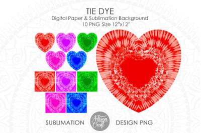 Tie Dye Sublimation Designs