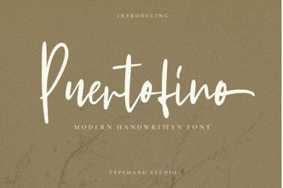 Puertofino - Modern Handwritten